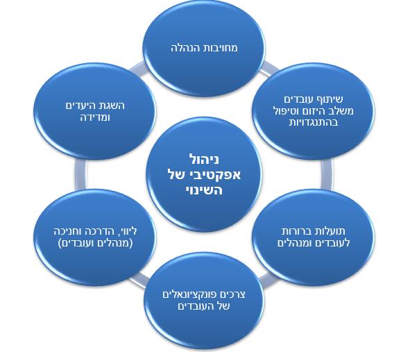ניהול אפקטיבי של שינוי ארגוני