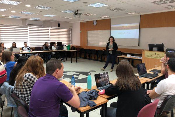 ארגו העבירה סדנה מעשית בנושא MANAGEMENT CONSULTING באוניברסיטת תל אביב
